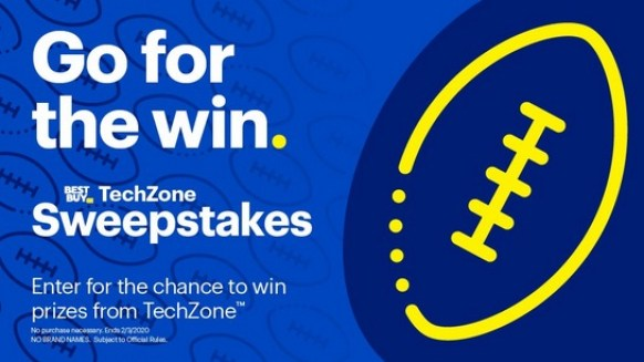 Best Buy Tech Zone 2020 Sweepstakes - Win Prize