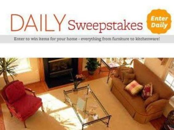 Better Homes and Gardens Daily Sweepstakes - Win Prize