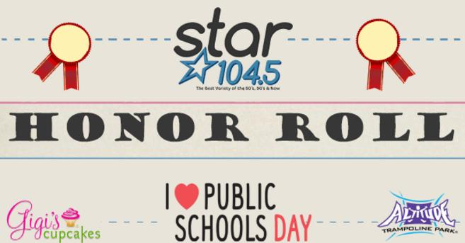 KSRZ Star Club Star Honor Roll Contest - Win Prize
