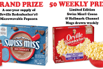 Snack Watch and Win Second Chance Sweepstakes