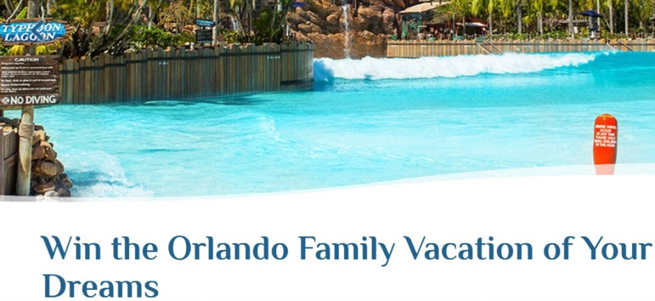 Visit Orlando Escape to Orlando Sweepstakes - Win Tickets