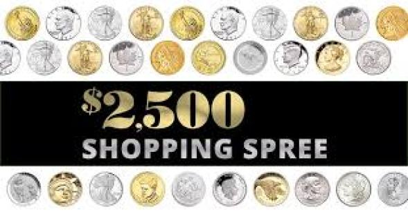 Littleton Coin January Shopping Spree Sweepstakes - Win Gift Card
