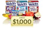 Welchs Fruit Snacks Lunchbox Notes Contest - Win Cash Prizes