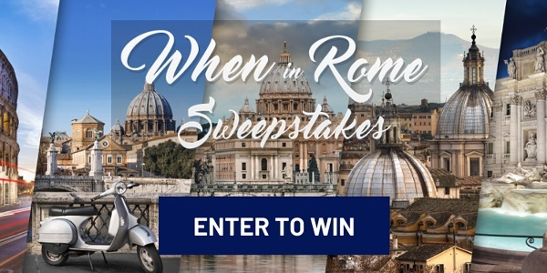 Frankly Media When in Rome Sweepstakes - Win Tickets