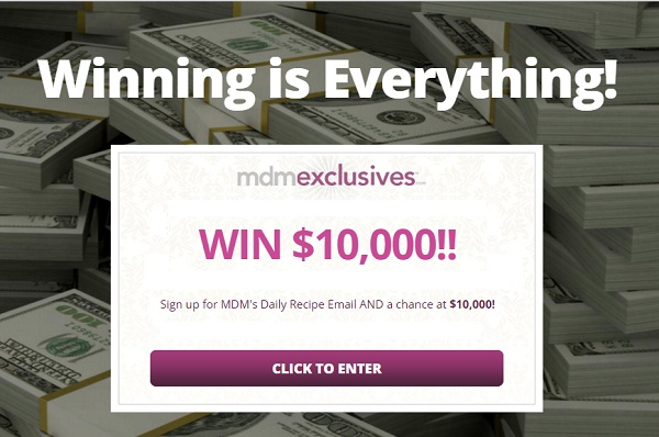 My Daily Moment $10000 Cash Sweepstakes