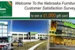 Nebraska Furniture Mart Customer Satisfaction Survey - Win Gift Card