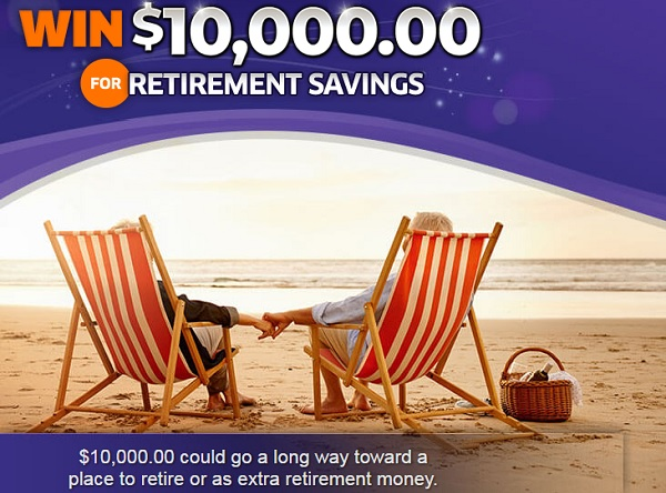 PCH $10000 Retirement Sweepstakes - Win Cash Prizes