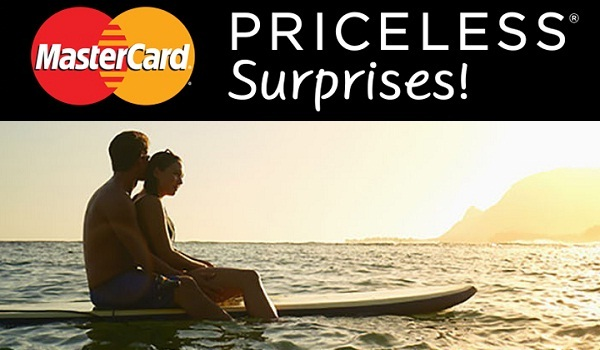 Mastercard Priceless Surprises Sweepstakes - Win Trip