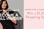 Simon Malls Shopping Spree Sweepstakes - Win Gift Card