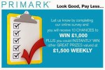 Tell Penneys Primark Survey Sweepstakes - Win Cash Prizes
