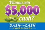 Valpak Dash for Cash Sweepstakes - Win Cash Prizes