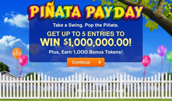 PCH $1 Million Pinata Payday Giveaway - Win Cash Prizes