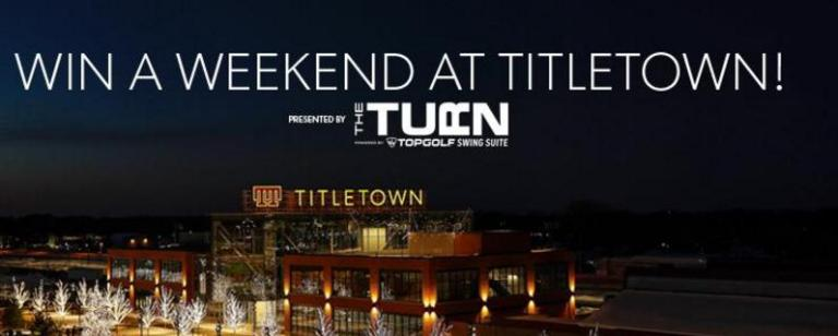 Green Bay Packers Weekend At Titletown Sweepstakes