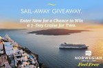 Norwegian Cruise Line Sail Away Giveaway - Win Tickets