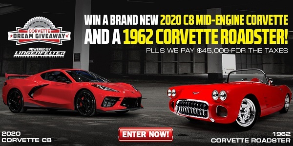Corvette Dream Giveaway - Win Car