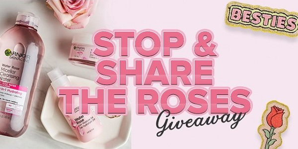 Garnier Stop And Share The Roses Giveaway - Win Prize