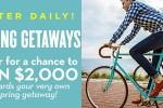 Midwestliving.com Spring Getaways Sweepstakes - Win Cash Prizes