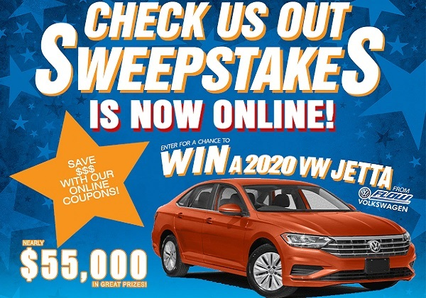 NBC29 Check Us out Sweepstakes - Win Cash Prizes