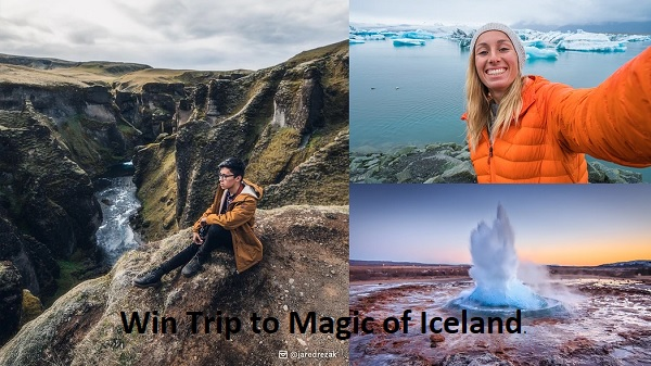 Omaze Iceland Sweepstakes - Win Tickets