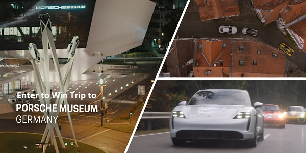 Porsche Taycan Heist Sweepstakes - Win Trip