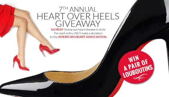 Spa Week Heart over Heels Giveaway - Win Prize