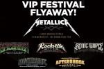 Blackened Whiskey Metallica Festival Flyaway Sweepstakes