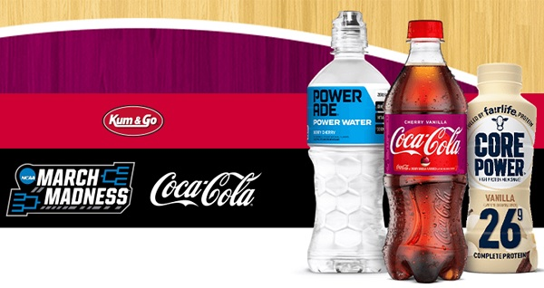 Coca Cola Kum & Go Basketball Instant Win Game