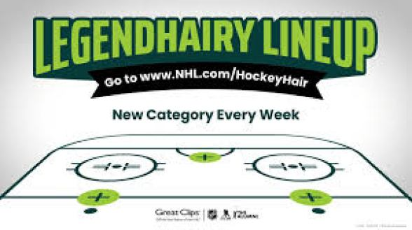NHL Great Clips Legendhairy Lineup Sweepstakes