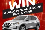 Go Auto Win 2020 Nissan Rouge For a Year Sweepstakes