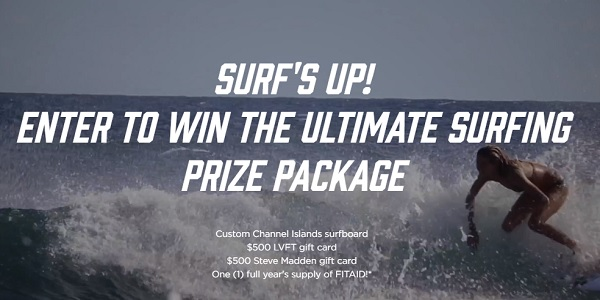LifeAID Beverage Surfs Up Giveaway