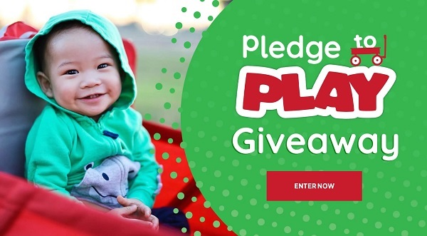 Radio Flyer Get Out & Play Daily Giveaway