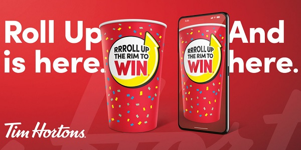 Tim Hortons Roll Up the Rim to Win Contest 2020