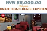 JR Cigar Ultimate Cigar Lounge Experience Sweepstakes