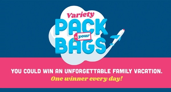 Frito Lay Variety Pack Your Bags Sweepstakes