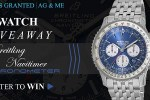 Breitling Men's Watch Giveaway