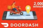 DoorDash Do Your Part Sweepstakes