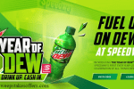 Speedway Year of MTN DEW Sweepstakes