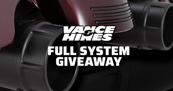 J&P Cycles Vance & Hines Full System Giveaway