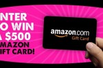 YEL Network $500 Amazon Gift Card Giveaway