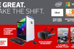 Intel and CDW Be Great Make The Shift Sweepstakes
