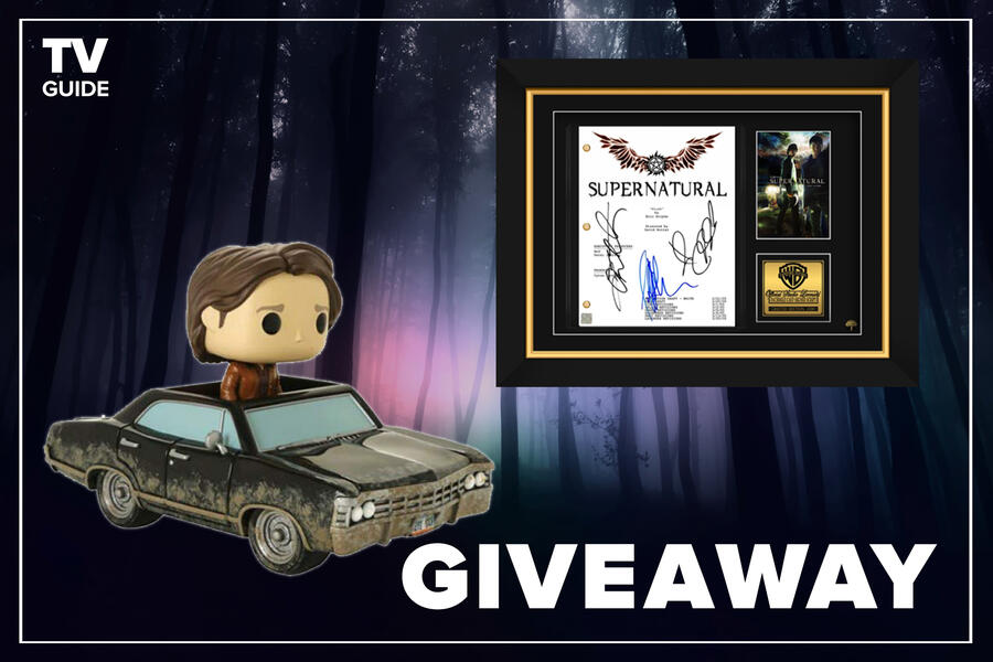 TVguide.com Supernatural Giveaway