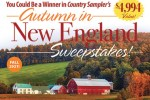 Countrysampler.com Autumn In New England Sweepstakes