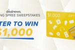 Deal News Shopping Spree Sweepstakes