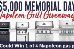 BBQGuys $5K Memorial Day Napoleon Grill Giveaway
