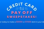 Credit Card Payoff Sweepstakes