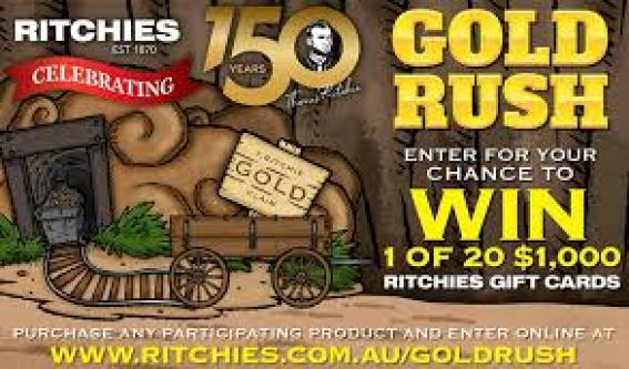 Ritchies Gold Rush Contest