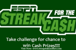 ESPN Streak for Cash Sweepstakes