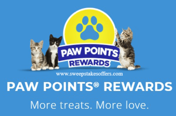 Paw Points Instant Win Game