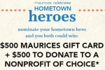 Maurices Celebrates Hometown Heroes Sweepstakes