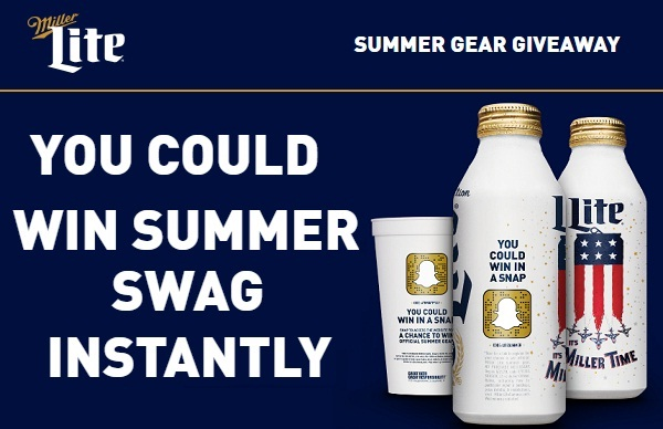 Miller Lite Summer Instant Win Game
